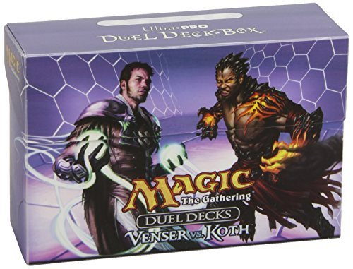 цены  Ultra Pro Magic Duel Deck Box Venser vs. Koth Dual Deck Box by Ultra Pro