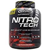 Muscletech Nitrotech Performance Series Vanilla, 4 Pounds (Strawberry)