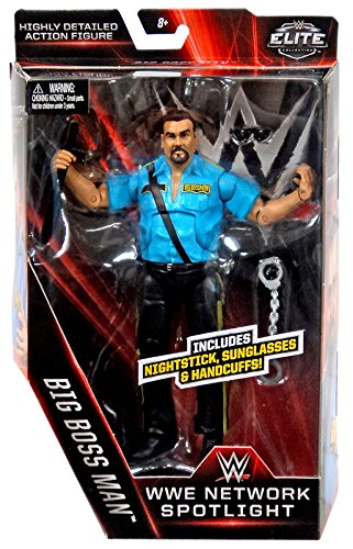 WWE, Elite Collection WWE Network Spotlight, Big Boss Man Action Figure