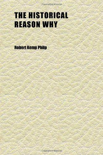 The Historical Reason Why; English History