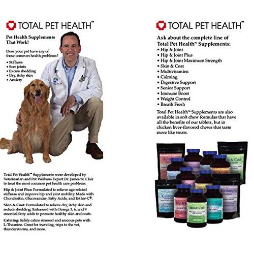 Total Pet Health Pet Supplement Pamphlet Display, 100-Pack