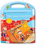 Children's Kids Family Travel Magnetic Board Game Wild West Hangman