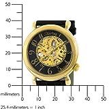Stuhrling Original Women's 108.123527 Lifestyle 'Wall Street' Skeleton Automatic Watch