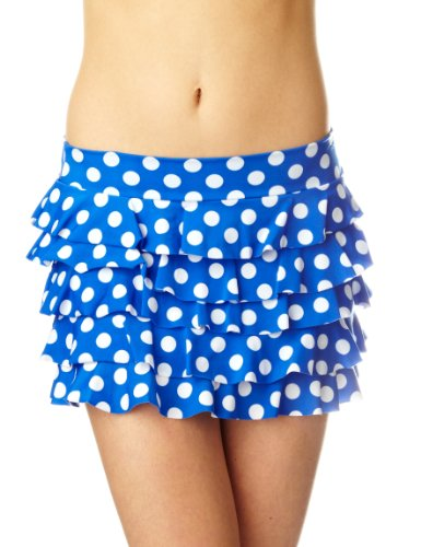Aguaclara Rumba Blue Bikini Skirt Womens Coverups and Sarongs Blue 10