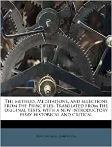 rene descartes meditations essays