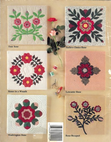 Templates for Rose Quilt Blocks: 44 Designs to Applique (4122)