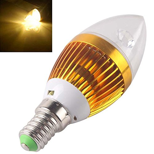 Fashion Partical E14 220V 9W 3*3W Warm Cool White Led Dimmable Light Bulb Lamp Candle Spotlight