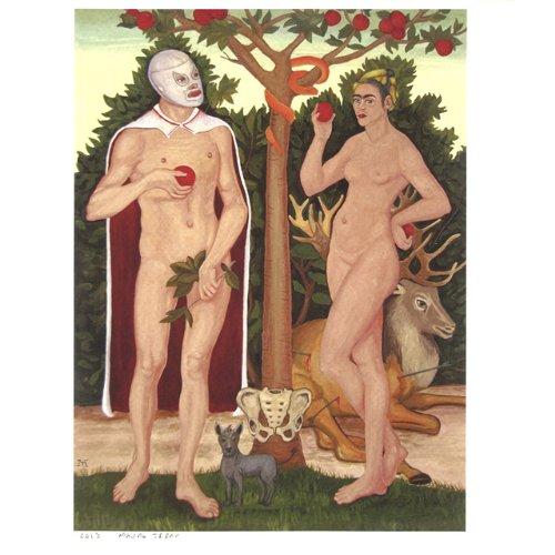 Rain and Frida, Adam and Eve (2)