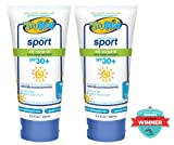TruKid 2-Piece Set SPORT Unscented/Water Resistant Sunny Days SPF30+ Lotion 3.5 oz tubes (no Vit. A)