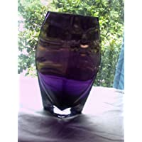 BX Glass Purple Vase