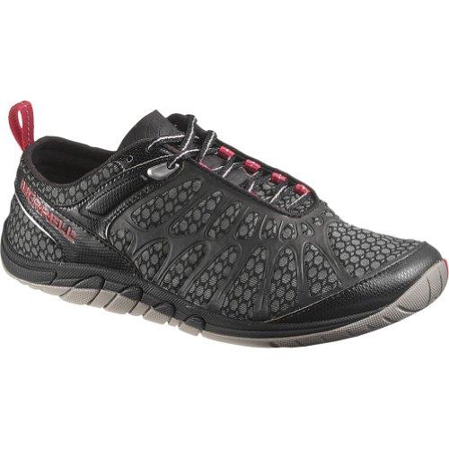 Merrell Women's Crush Glove Trail Running Shoe,Black,8 M US