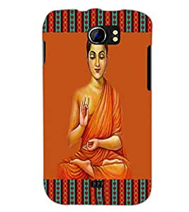 PrintDhaba Holy Image D-4233 Back Case Cover for MICROMAX A110 CANVAS 2 (Multi-Coloured)