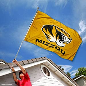 Buy Mizzou Missouri Tigers University Large College Flag by College Flags and Banners Co.