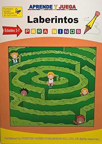 Maze / Laberintos- Learn Spanish / Aprende español - Libro de actividades para niños / Activities for kids - 1