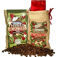 Hawaii Roasters Award Winning 100% Kona Coffee, Whole Bean, Medium Roast, 7-Ounce Bags