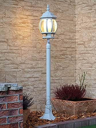 Luminaire lampadaire ext rieur lanterne de jardin classique lampe sur pie - Lampadaire exterieur a vendre ...