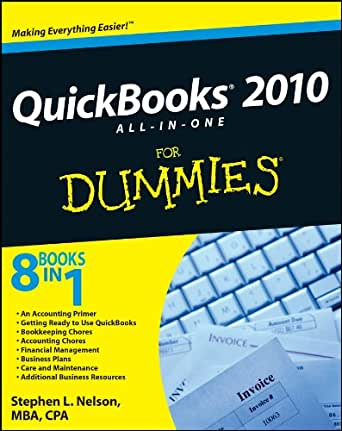 QuickBooks 2010 All-in-One For Dummies 6, Stephen L ...
