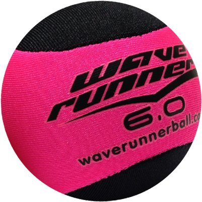 Wave Runner Water Runner Skipping Ball, Pink