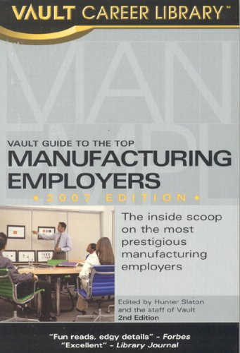 vault-guide-to-the-top-manufacturing-employers