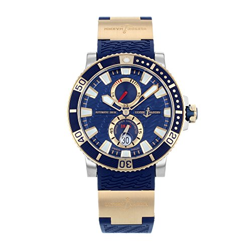 ulysse-nardin-maxi-marine-diver-blue-dial-18kt-rose-gold-titanium-mens-watch-265-90-3-93