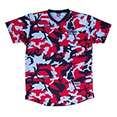 Ultras USA Red, White & Blue Camo Sublimated Soccer Jersey
