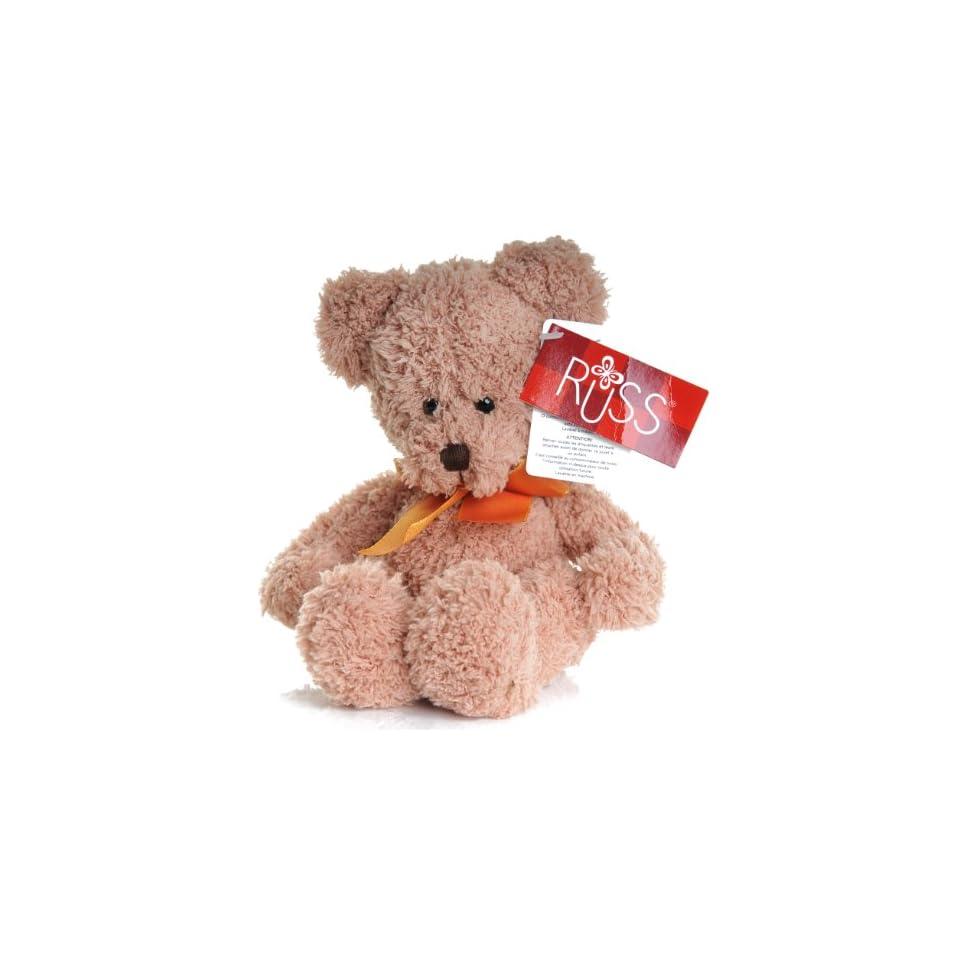 Russ Bear super soft 9 inch Called Hugs in light brown