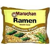 Maruchan Ramen, Mushroom, 3-Ounce  Packages (Pack of 24)