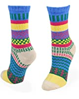 Winter Fun Crew Jacquard Socks for Women