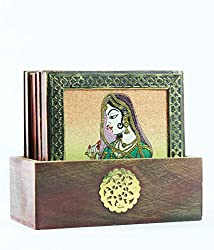 Vedanta Gemstone coaster set square 3