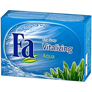 Fa Aqua Vitalizing Bar Soap - Pack of 8 X 100g