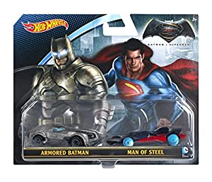 Hot Wheels Batman v Superman: Dawn of Justice Vehicle 2-Pack at Gotham City Store