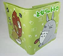 My Neighbor Totoro Trifold Wallet with Button (Green)