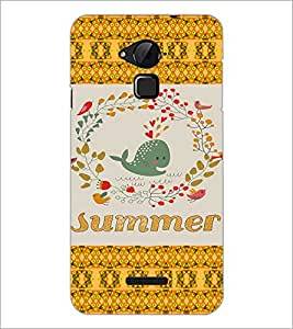 PrintDhaba Cartoon D-5027 Back Case Cover for COOLPAD NOTE 3 LITE (Multi-Coloured)