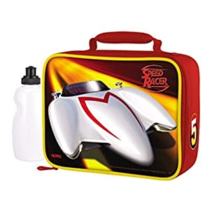 Thermos Speed Racer Lunch Cooler Box Tote