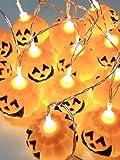 ハロウィンかぼちゃランタンイルミネーションパンプキンLEDライトセットパーティー小物
