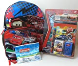 Cars - School Backpack Supply Bundle