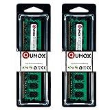 QUMOX @ 2x 2GB 4GB DDR2 800MHz PC2-6400 PC2-6300 DIMM
