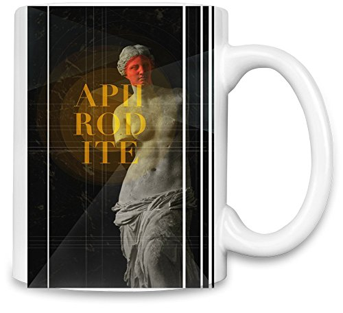 Aphrodite Unique Coffee Mug   11Oz Ceramic Cup  The Best Way To Surprise Everyone On Your Special Day  Custom Mugs By Bang (Roman Godess)