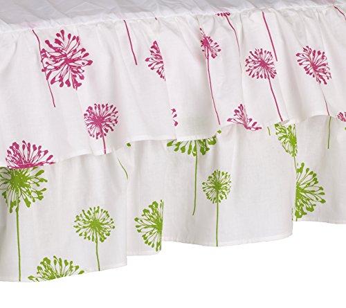 Cotton Tale Designs Crib Skirt, Hottsie Dottsie Dust Ruffle - 1