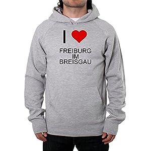 I Love FREIBURG IM BREISGAU Unisex Pullover Hoodie