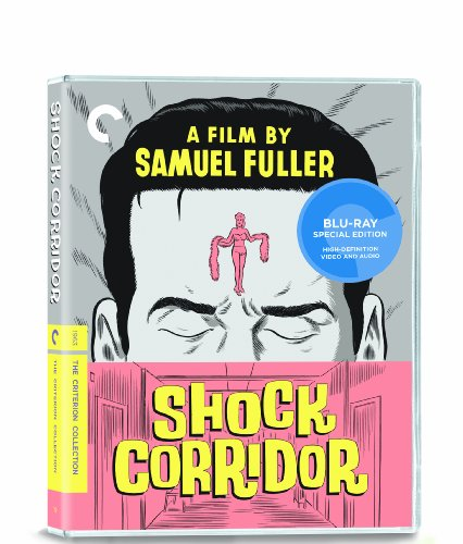Cover art for  Shock Corridor (The Criterion Collection) [Blu-ray]