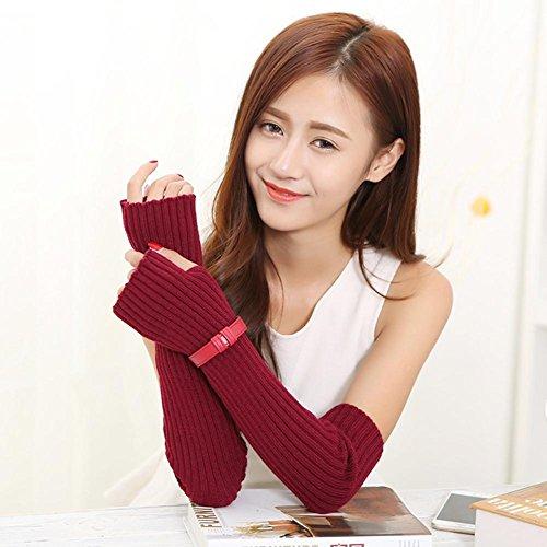 jqam-womens-elegant-tricote-acrylique-winter-warmers-bras-long-pouce-trou-gants-wine-red-leather-glo