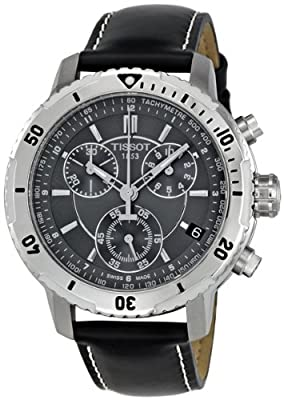 Tissot PRS 200 Chronograph Black Dial Quartz Sport Mens Watch T0674171605100 from Tissot