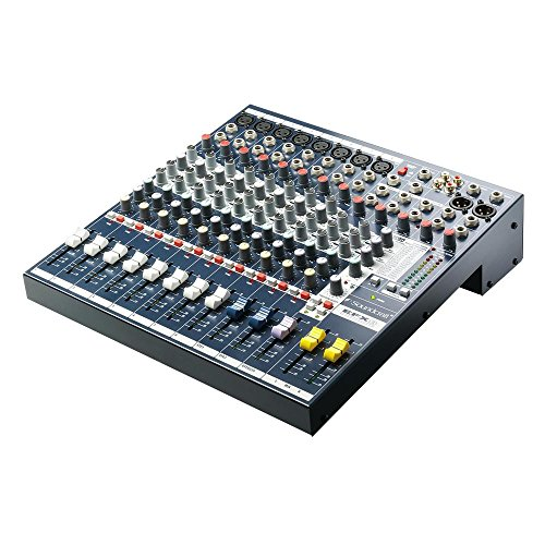 8 Channel Mixer With Effects Processor