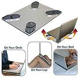 Xpad Slim (Non-slip Laptop Cooler and Heatshield) ~ Xpad