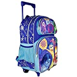 Disney Pixar Inside Out Riley's Emotion Kids 16 School Rolling Backpack Bag