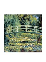 Artopweb Panel Decorativo Monet Le Pont Japonais Detail 30x30 cm
