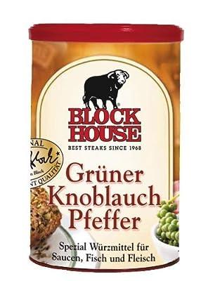 Block House Grüner Knoblauch Pfeffer - 1 x 200 g