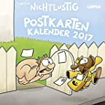 Nichtlustig Postkartenkalender 2017