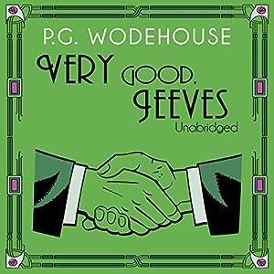 Very Good, Jeeves Audiobook